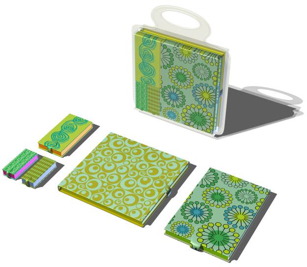 3D GrBook set